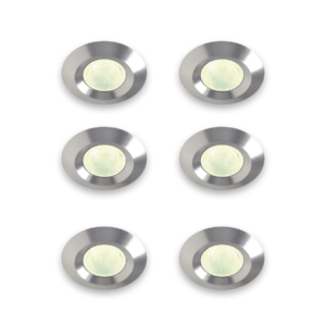 LED Easy 6 lampen per set, inclusief kabel en trafo